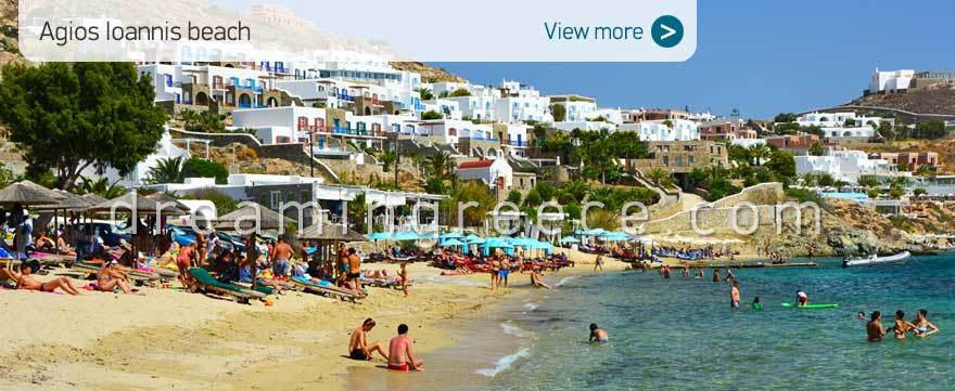 Agios Ioannis beach Mykonos Beaches Greece
