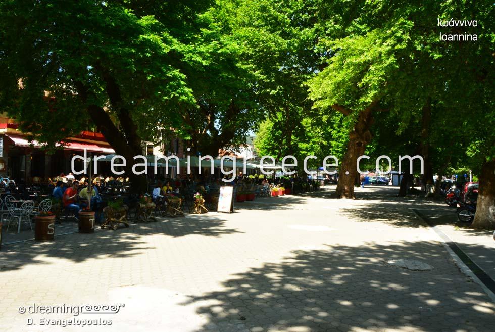 Visit Ioannina in Epirus. Travel Guide of Greece.