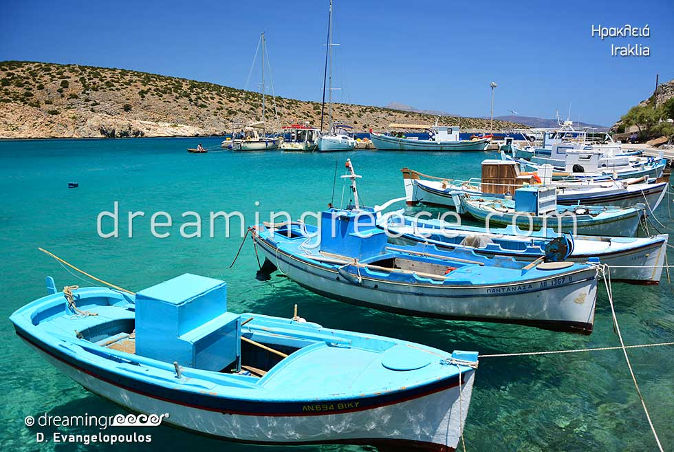 Tourist Guide of Iraklia island Small Cyclades Greece
