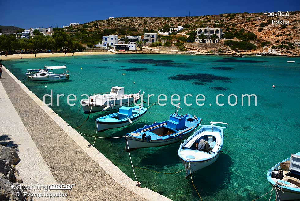 Travel Guide of Iraklia island Small Cyclades Greece
