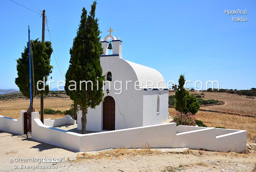 Iraklia. Travel Guide of Greece Cyclades islands
