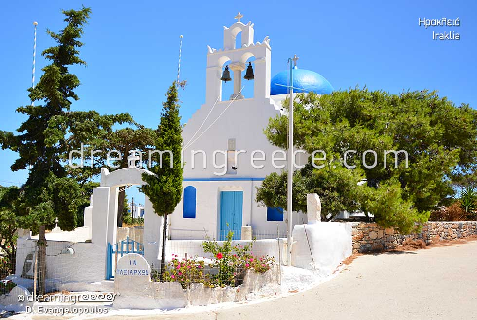 Iraklia island Small Cyclades. Discover Greece