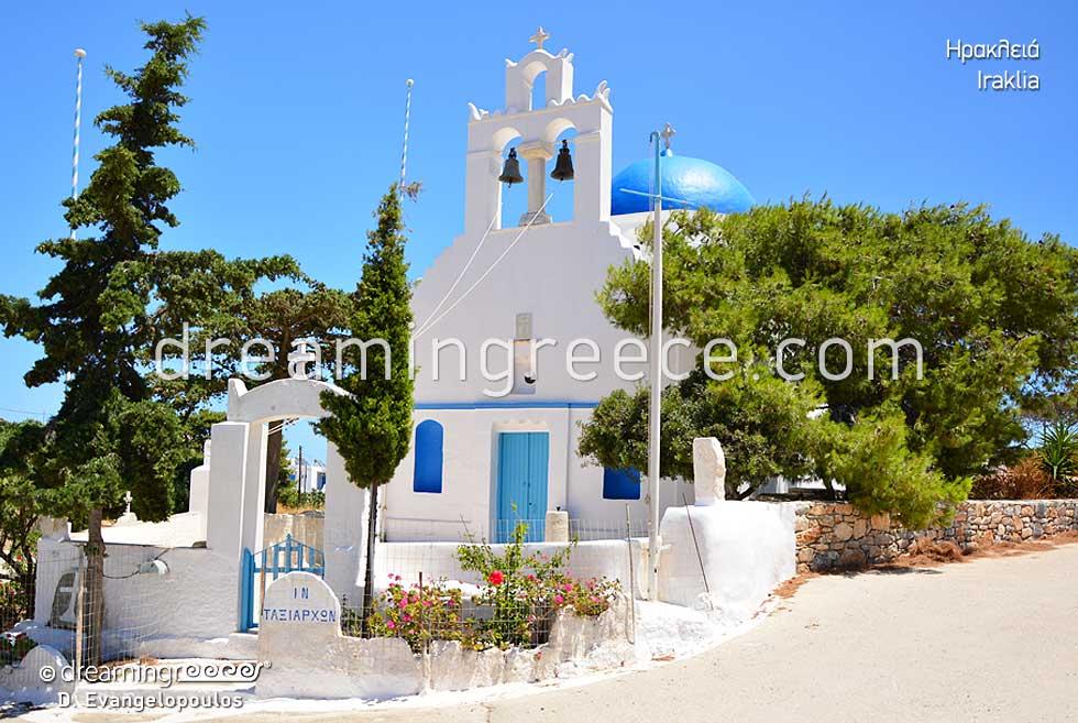 Iraklia island Small Cyclades. Discover Greece