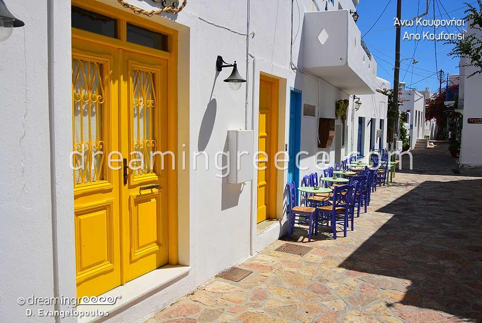 Travel Guide Koufonisia Cyclades Greece. Greek islands.