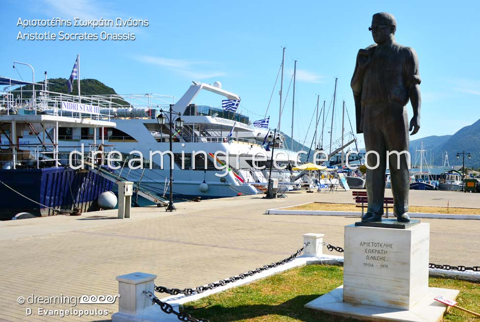 Nidri Lefkada island Greece - Aristotle Socrates Onassis