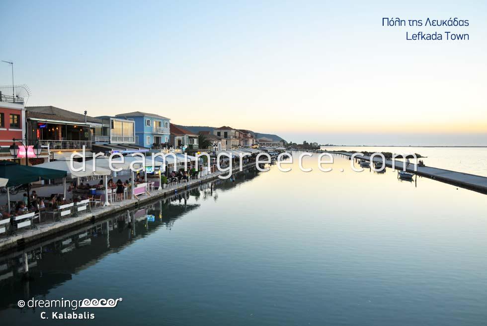 Discover Lefkada island town Greece Ionian Islands