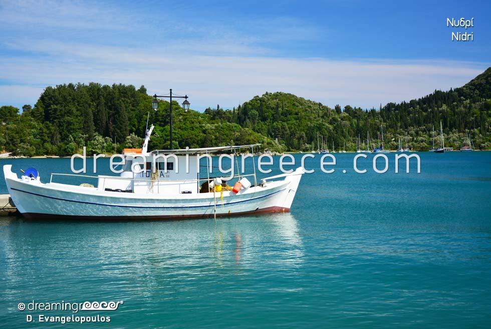 Nidri Lefkada island Greek islands Ionian Islands
