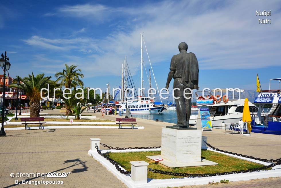 Nidri Lefkada island Greece Ionian Islands