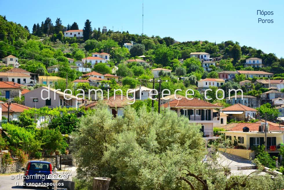 Poros Lefkada island Greece Ionian Islands