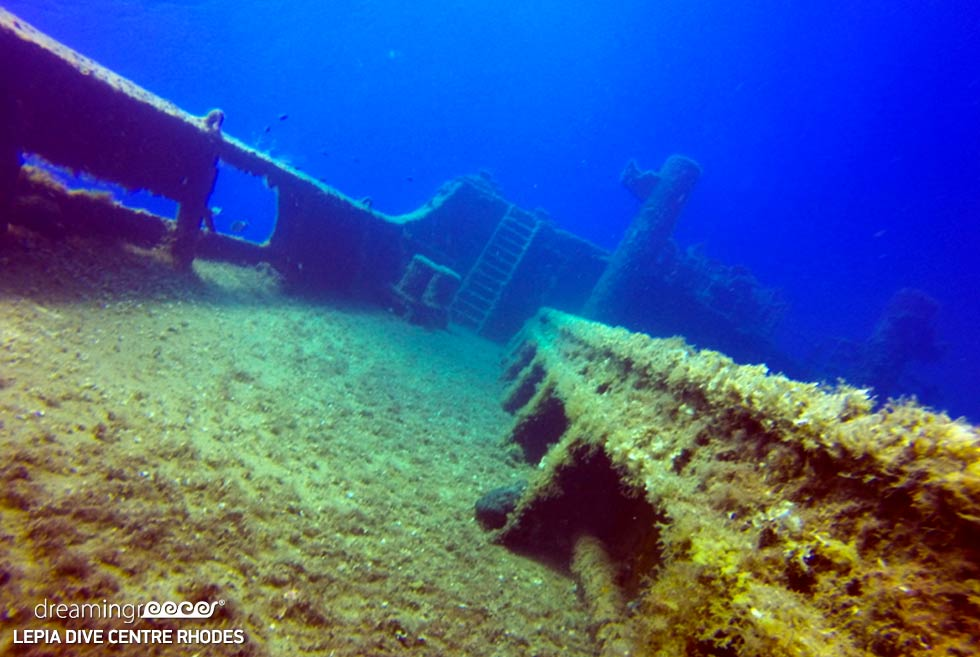 Lepia Dive School. Diving Centers Greece