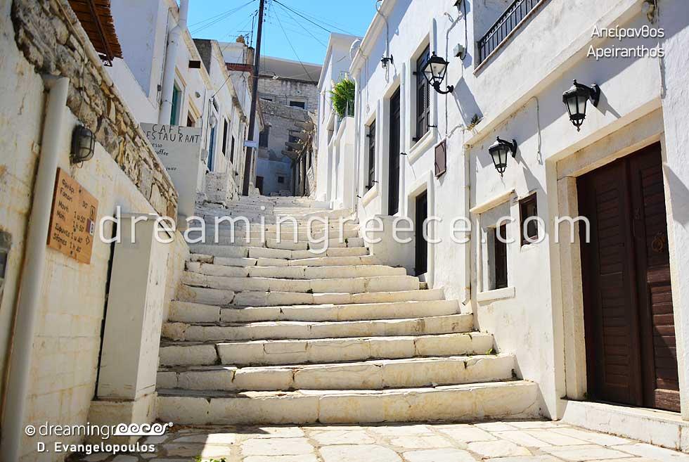 Apeiranthos Village Naxos. Explore Greece. Holidays in Naxos island.
