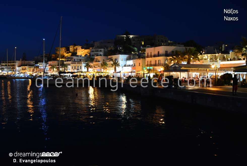 Travel Guide of Naxos island town Greece