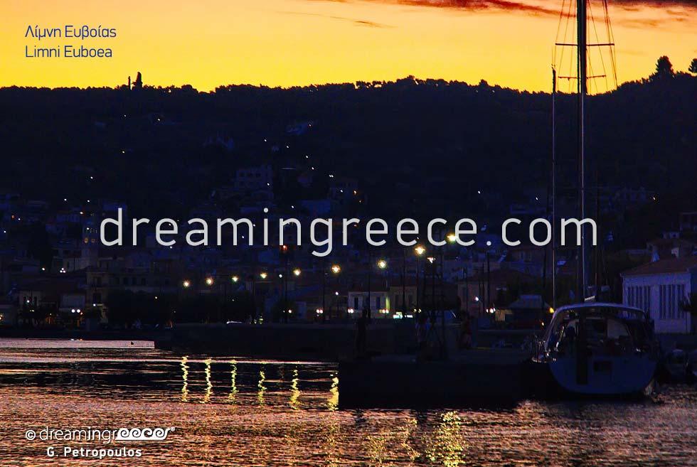 Tourist Guide of North Evia Greece. Lake Euboea.