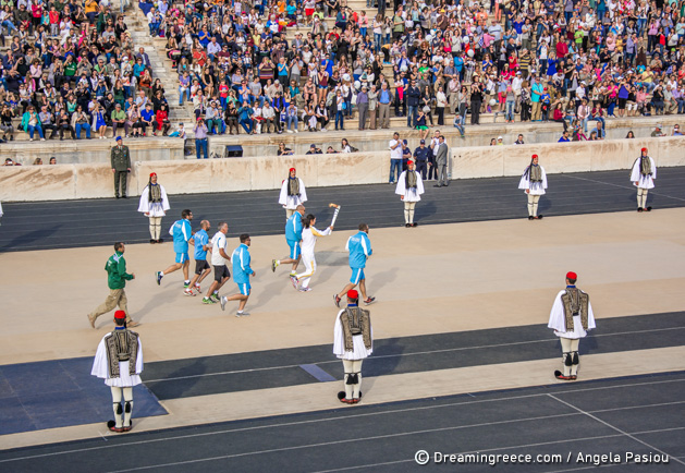 Olympics 2016: Torch begins journey to Brazil from Athens Panathenaic Stadium