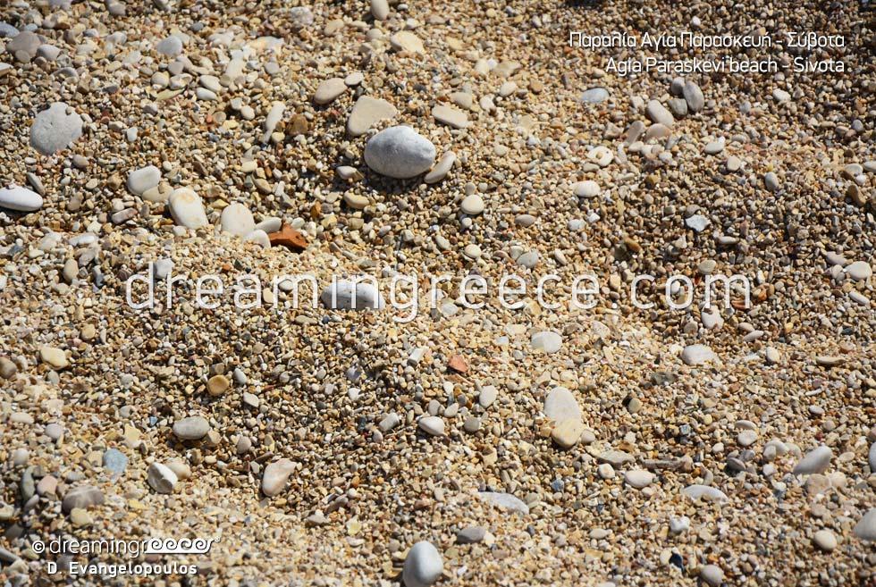 Agia Paraskevi beach in Sivota Sand