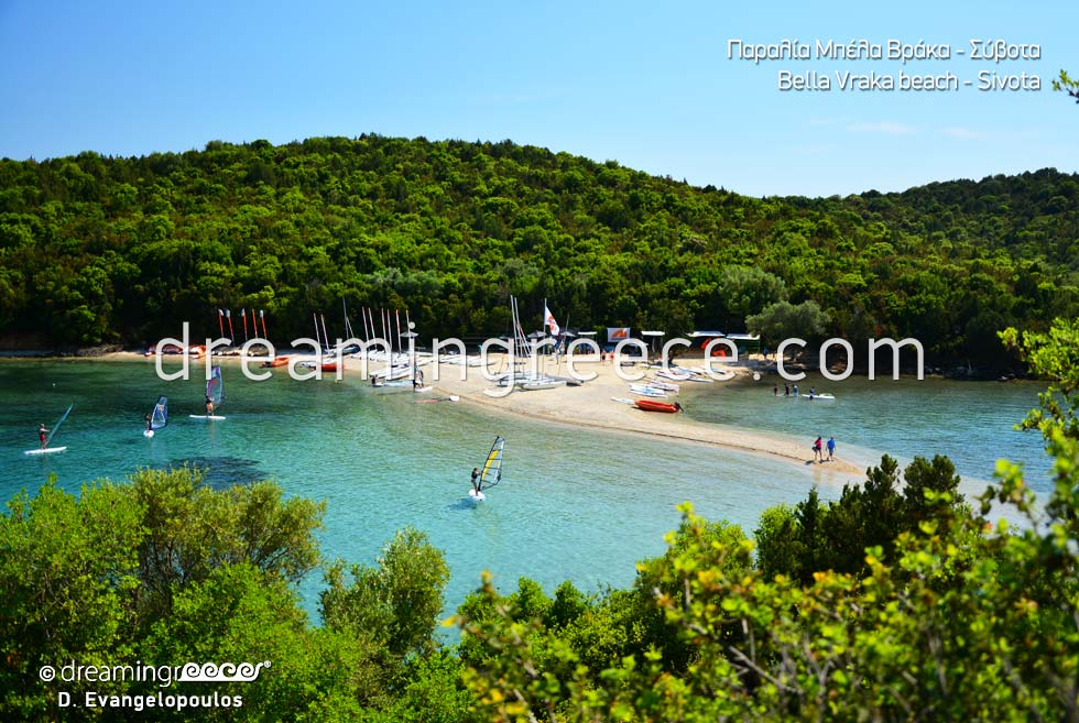Bella Vraka beach in Sivota Beaches