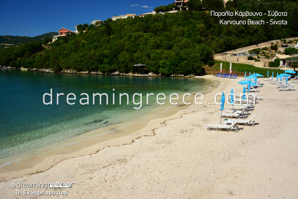 Karvouno beach Sivota Parga Greece