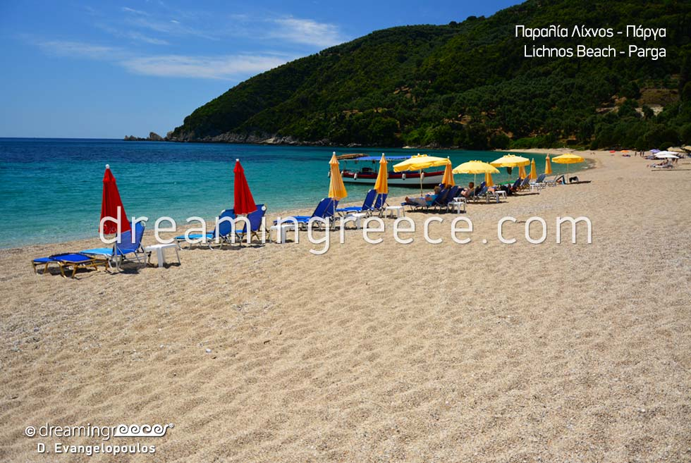 Lichnos beach Sivota Parga Greece