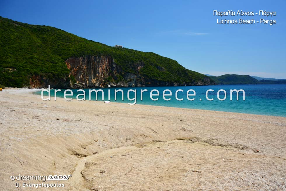 Lichnos beach Beaches in Greece