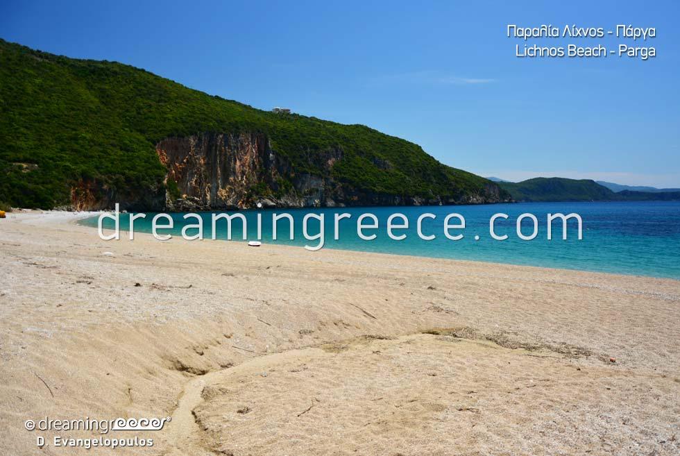 Lichnos beach Beaches in Greece