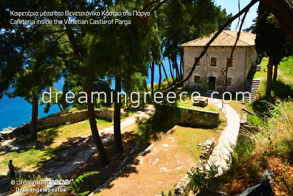 Venetian Castle in Parga Epirus. Visit Greece