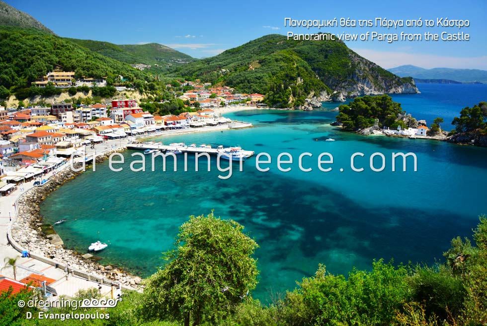 Vacations Parga Greece Venetian Parga