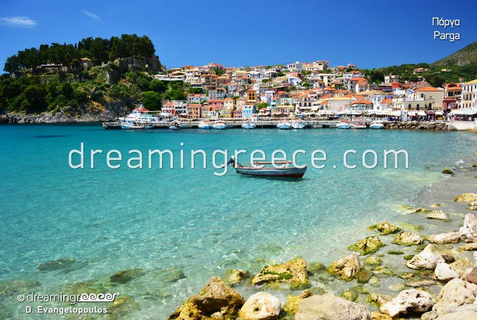Explore Parga Preveza Epirus. Discover Greece