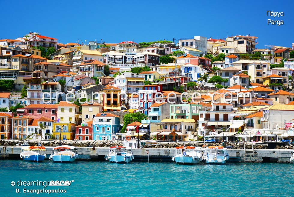 Holidays in Parga Preveza Epirus Greece