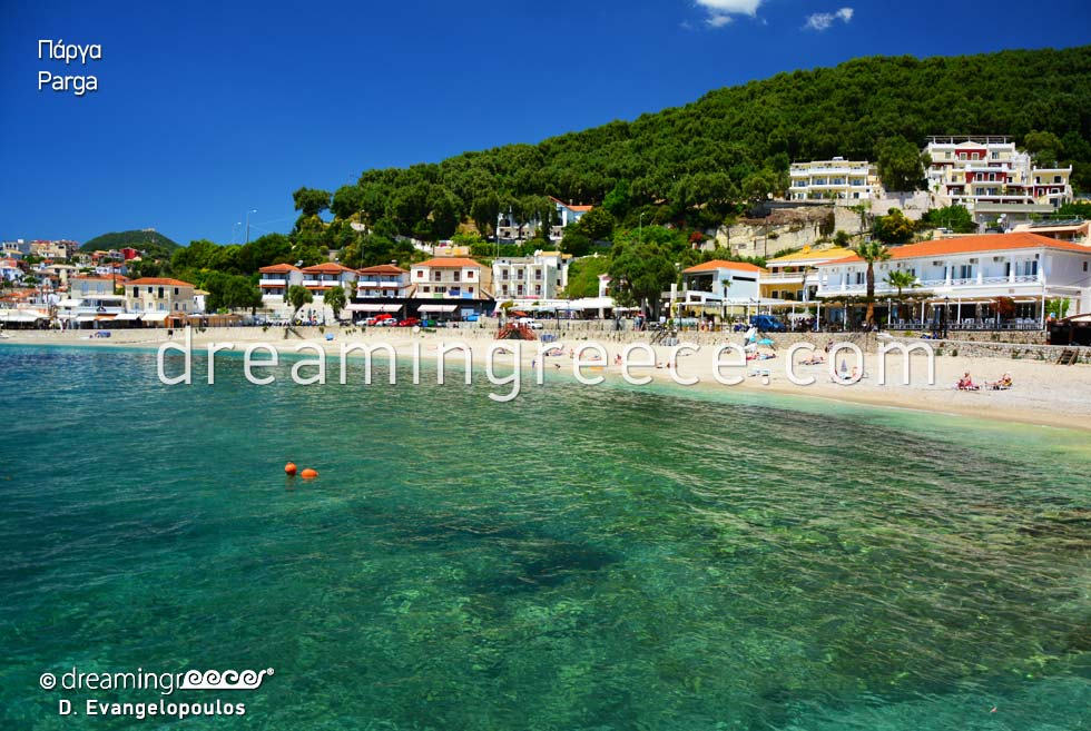 Travel guide of Parga Preveza Epirus Greece