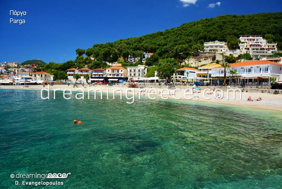 Travel guide of Parga Preveza Epirus Greece