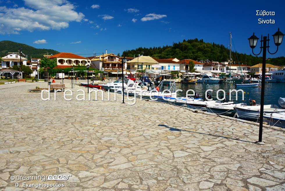 Vacations in Sivota Syvota Thresprotia Epirus Greece