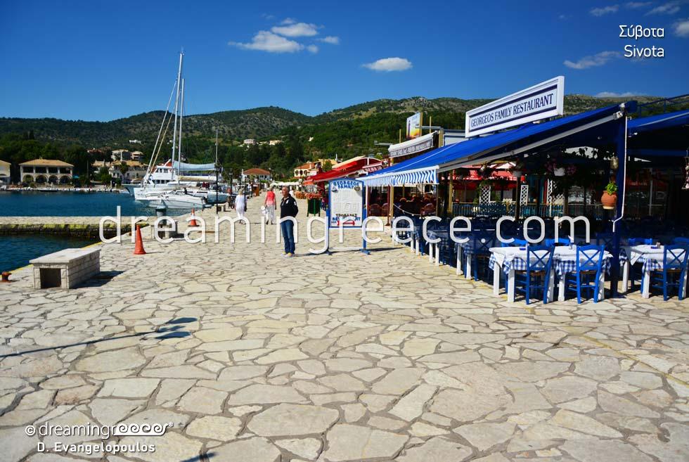 Port of Sivota Syvota Thresprotia Epirus Greece