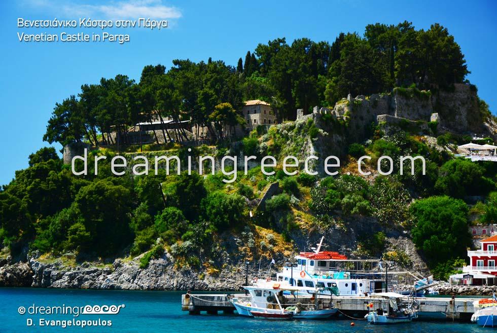 Parga Venetian Castle Epirus Greece