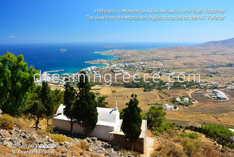 Monastery Agios Antonios Kefalos Paros island