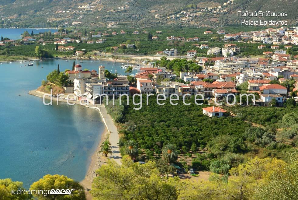 Holidays in Palaia Epidavros Argolida Peloponnese Greece