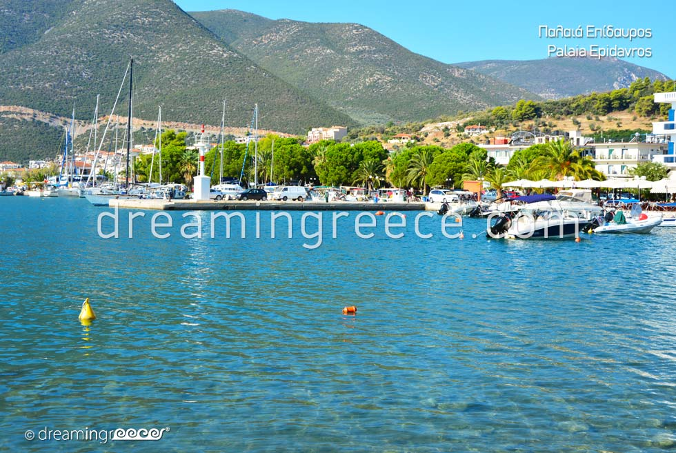 Tourist Guide Palaia Epidavros Argolida Peloponnese Greece