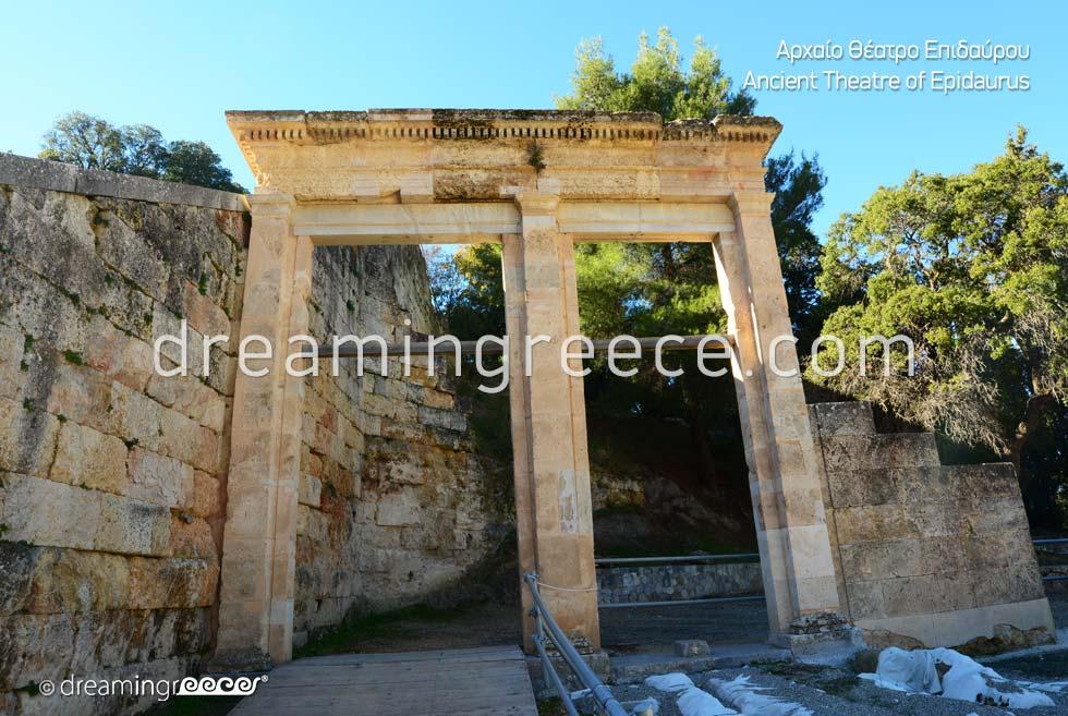 Ancient Theater of Epidavros Peloponnese Visit Greece