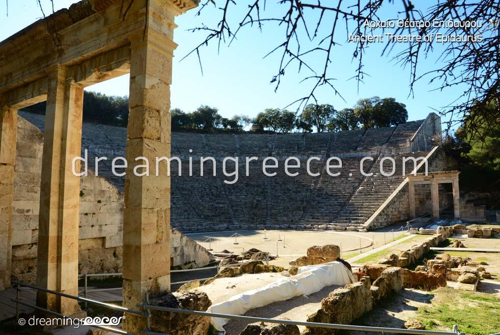 Visit Ancient Theater of Epidavros Peloponnese Greece