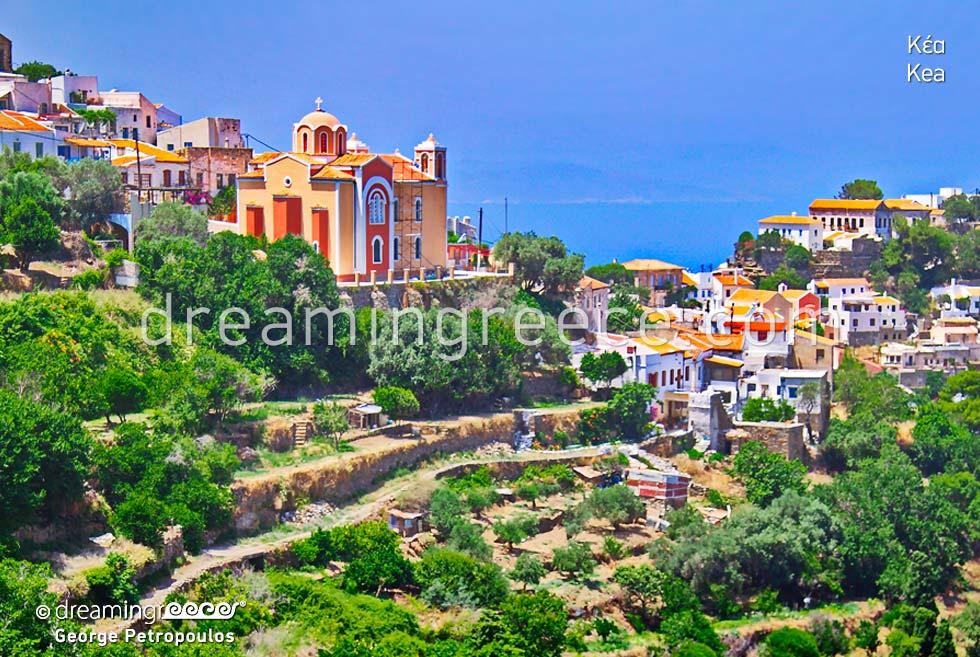 Discover Kea Tzia island Cyclades. Visit Greece