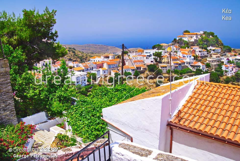 Kea Tzia island Cyclades Greece