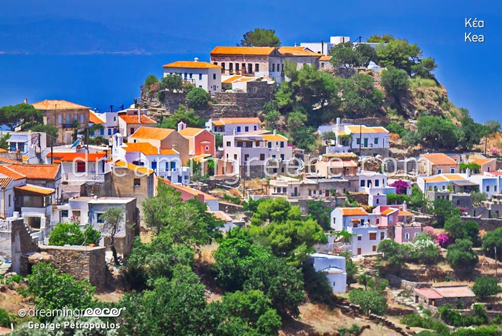 Tourist Guide of Kea Tzia island Cyclades Greece