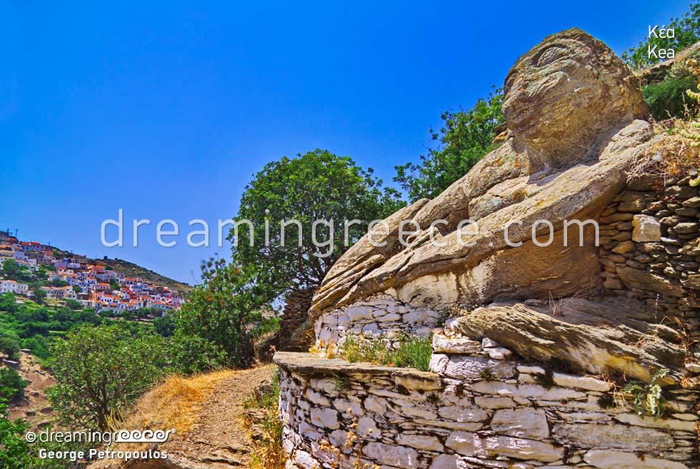 Kea Tzia island Cyclades vacations Greece