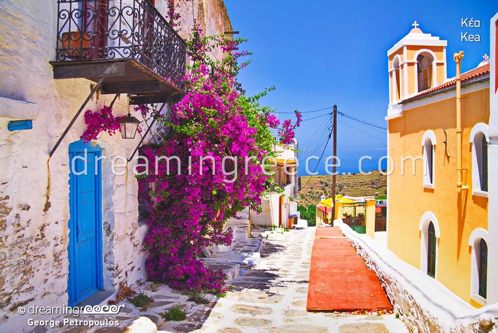 Kea Tzia island. Holidays in the Cyclades Greece
