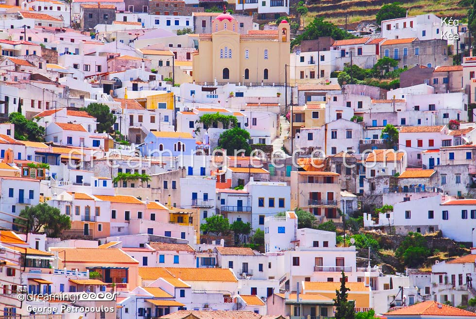 Travel Guide of Kea Tzia island Cyclades Greece