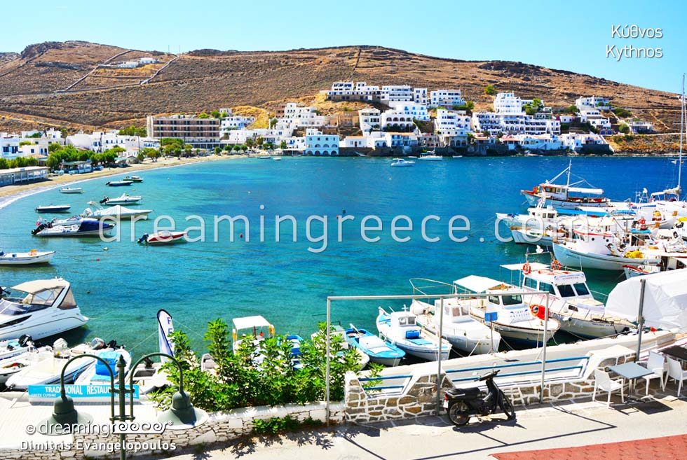 Holidays in Kythnos island Cyclades islands Greece