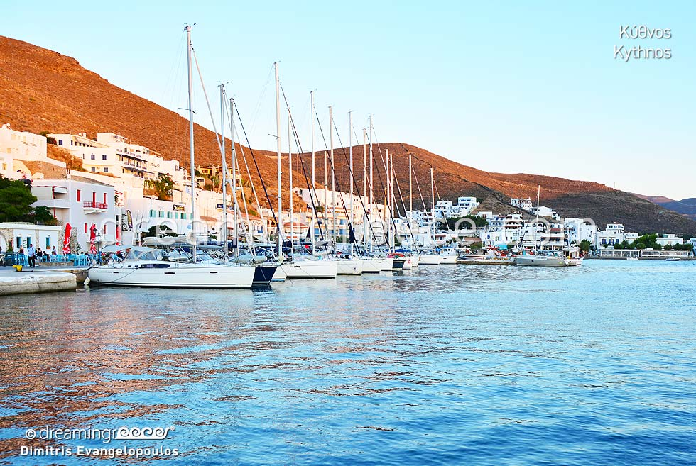 Travel Guide Kythnos island Cyclades islands Greece