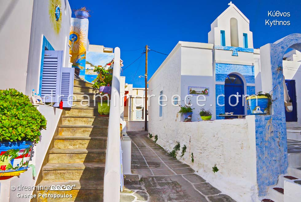 Travel Guide of Kythnos island Cyclades islands Greece