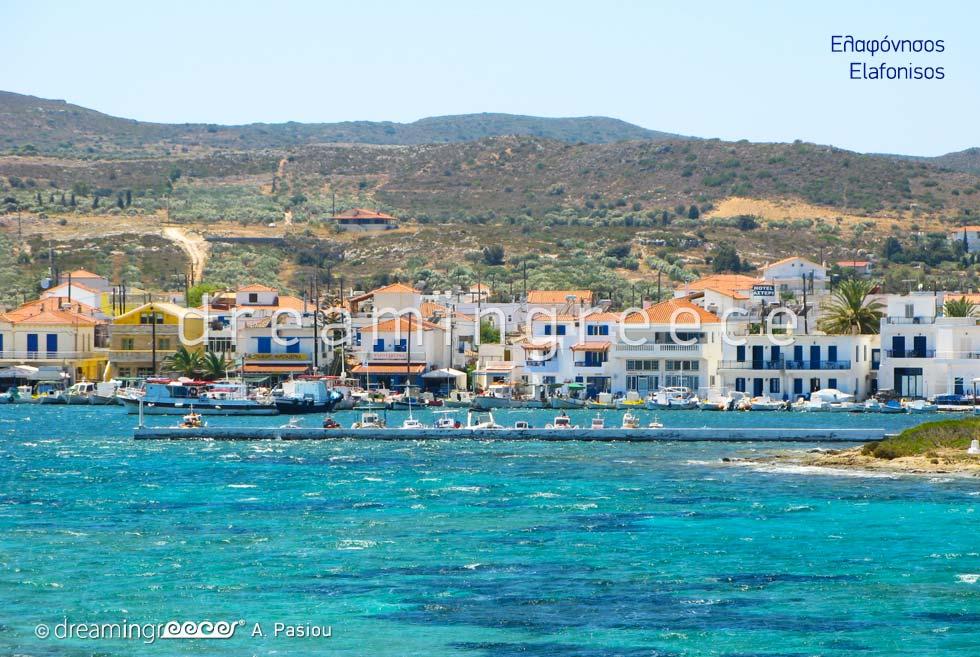Travel Guide of Elafonisos island Laconia Peloponnese Greece