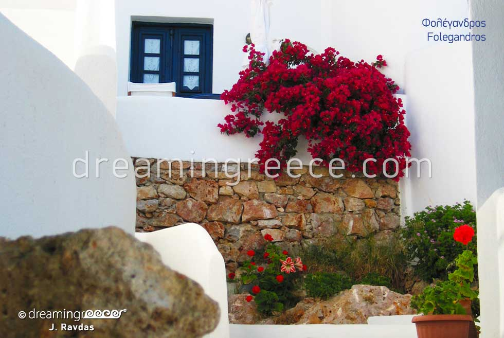 Folegandros Greek islands. Summer Vacations in Greece