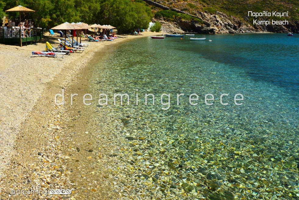 Kampi beach Fournoi Korseon beaches